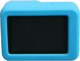 Etrends Protective Soft Silicone Case with Lens Cap Cover GP-H5-105-BL, Blue