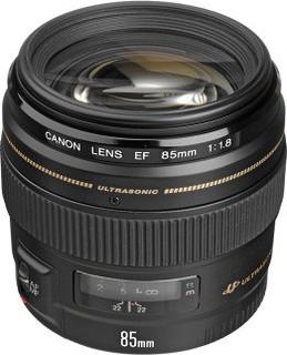 Canon EF 85mm f 1.8 Lens for Canon SLR Cameras