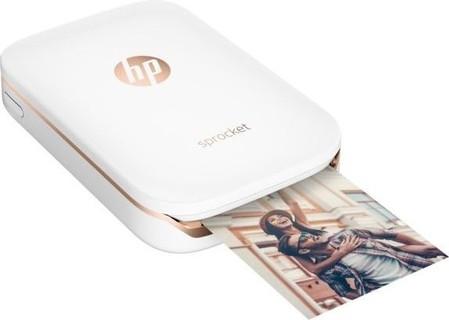 HP Sprocket Portable Photo Printer (X7N07A) White