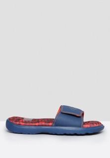 UMBRO Memory Foam Slide Sandals - Navy