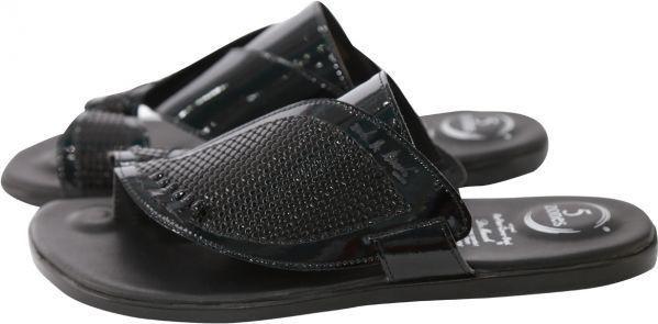 Dr. Mauch Black Comfort & Medical Slipper For Men