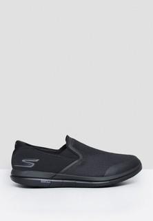 Skechers Go Flex Casual Slip Ons - Black