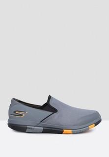 Skechers Go Flex Slip Ons - Charcoal