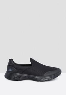 Skechers Go Walk 4 Slip Ons - Black