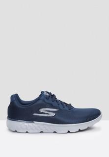 Skechers Go Run 400 Sports Shoes - Navy Grey