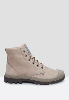 PALLADIUM Pampa HI Leather Gusset Boots - Brown