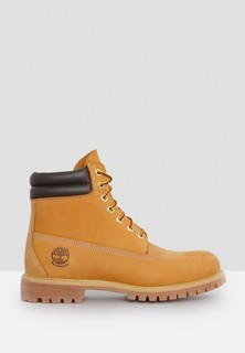 TIMBERLAND 6 Inch Double Collar Boots - Tan