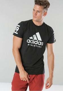 Adidas Performance ATHLETICS 360 Tshirt - Black