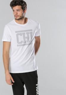 Anta Imprinted Short Sleeve T Shirt - White