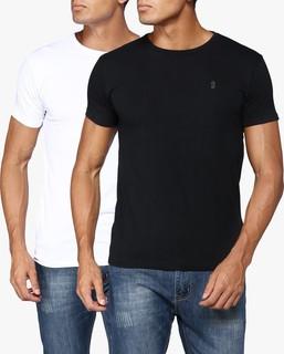 STATE 8 Black and White Basic T-Shirt Pack