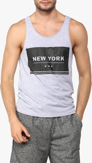 STATE 8 Grey New York Tank Top