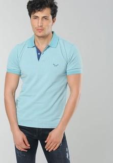 JORINDO Basic Polo Shirt - Blue Green