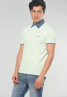 JORINDO Basic Polo Shirt - Light Green