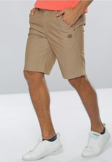 361 Degrees Sports Life Knee Shorts - Khaki