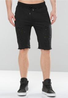 PROJECT X PARIS Project X Paris Cotton Shorts - Black