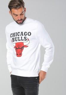 Mitchell and Ness Chicago Bulls Sweatshirt - White