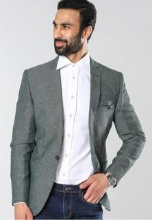 CASABA Slim Fit Blazer - Green