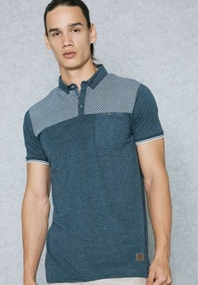 Brave Soul Block Pocket Polo