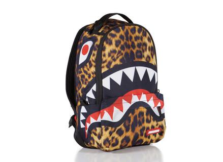 SprayGround Lil Leopard Shark Bag