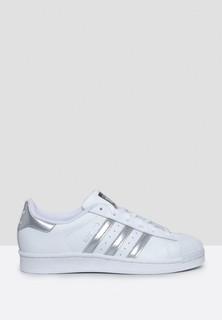 Adidas Superstar Sneakers - White Grey