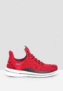 Skechers Burst Walk Sneakers - Red Black