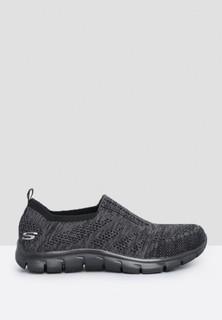 Skechers Empire Inside Look Comfort Shoes - Black Charcoal