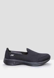 Skechers Go Walk 4 Comfort Shoes - Black