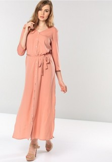 STOEE Long Slit Maxi Dress - Pink
