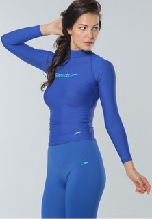 speedo Classic Long Sleeves Rashguard - Blue