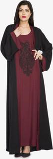 Zahra Abaya, Black Red