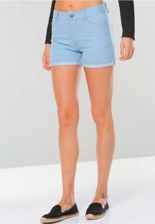 FABALLEY Denim Shorts - Light Blue