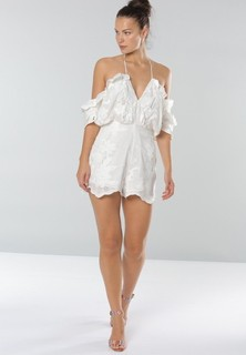 ALICE MCCALL Shake It Off Playsuit - White