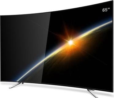 WANSA 65 inch Curved 4K Ultra HD Smart LED TV - WUD65F7762SCN