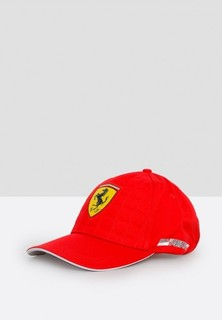 FERRARI Quilt Stitched Cap - Red