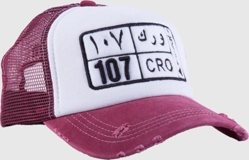 Creo SAUDI ARABIA - BLACK PLATE NUMBER CAP - Maroon