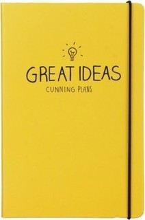 Happy Jackson Great Ideas A5 Notebook