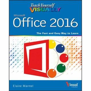 Teach Yourself VISUALLY ,Microsoft Office 2016