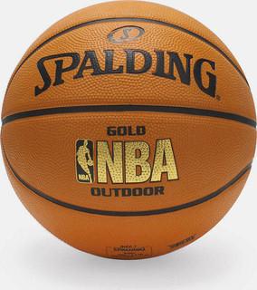 spalding nba gold outdoor basketball