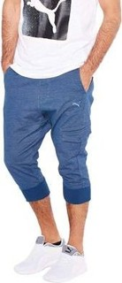 Puma Style 3 4 Sweatpants, Blue Wing Teal