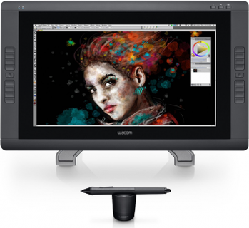 Wacom Cintiq 22HD Touch Pen Display Black