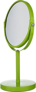 Spirella Sydney 17 x 27 cm Metal Standing Bathroom Mirror - Green
