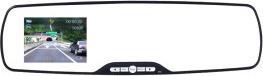 Margoun Full HD Front and Back Dashboard Camera 3 MP, Black