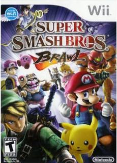 لعبة عائلية ,Wii لعبة ,سوبر سماش براديرز