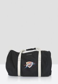 Mitchell and Ness Oklahoma City Thunder Duffle Bag - Black