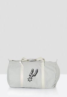 Mitchell and Ness San Antonio Spurs Duffle Bag - Grey