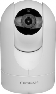Foscam R2W Indoor 1080p FHD Wireless Plug and Play IP Camera, White