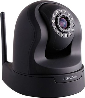 Foscam FI9826W Pan Tilt Wireless 1.3MP IP Camera Black