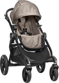 Baby Jogger City Select Single Stroller - Sand (Black Frame)