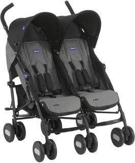 Chicco Echo Twin Baby Stroller - CH79311-22, Gray