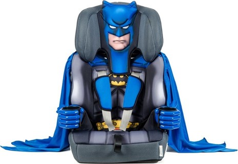 Kidsembrace Batman Deluxe High Backed Booster Seat - Group 1,2,3